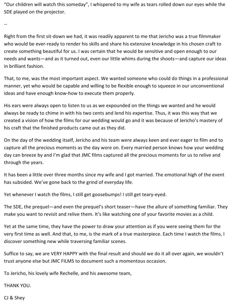 Microsoft Word - jmc films cj testimony.docx