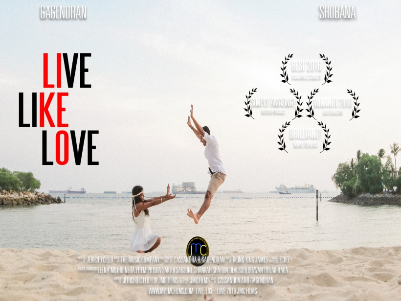 LIVE LIKE LOVE POSTER